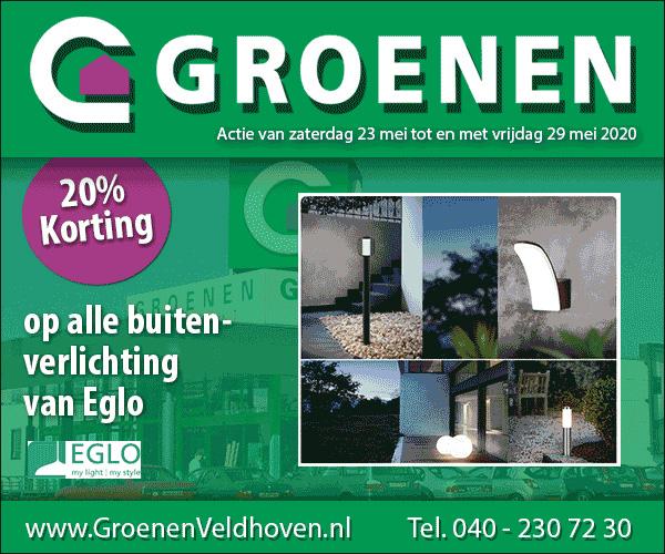 Weekactie groenen bouwmarkt